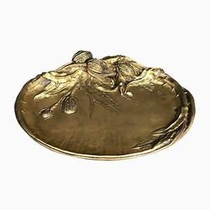 Antique Bronze Platter by Albert Marionnet