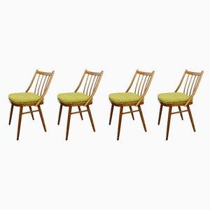 Chaises de Salon Vintage, années 60, Set de 4