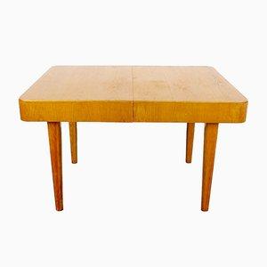 Tavolo da pranzo vintage allungabile in legno, anni '60