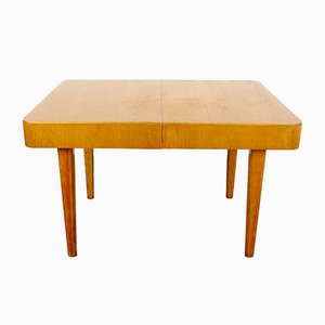Vintage Wooden Extendable Dining Table, 1960s