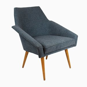 Blue Lounge Armchair, 1960s