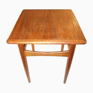 Small Vintage Danish Coffee Table in Oak, 1960s