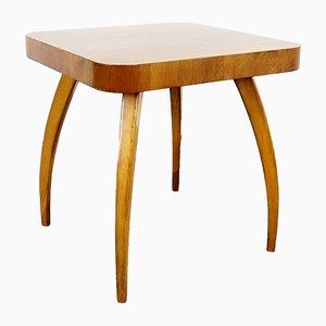 Mesa de centro estilo Art Déco de madera, años 50
