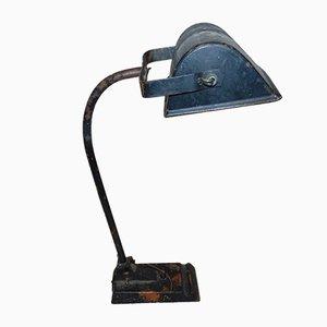 Lámpara de mesa industrial vintage de Kaiser, años 20