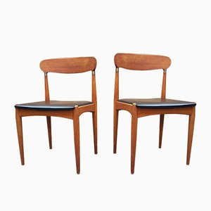 Dining Chairs by Johannes Andersen for Samcon, 1960s, Set of 2
