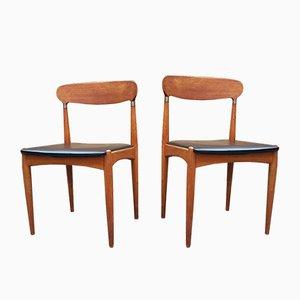 Sedie da pranzo di Johannes Andersen per Samcon, anni '60, set di 2