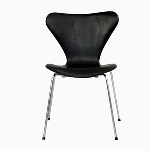 Mid-Century Model 7 Dining Chair by Arne Jacobsen for Fritz Hansen