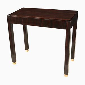 Art Deco Macassar Ebony Side Table, 1930s