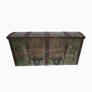Swedish Oak Dresser with Copper Fittings, 1868