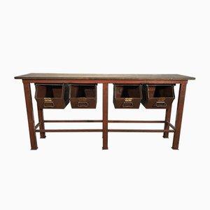 Table de Travail Vintage Industrielle, années 60