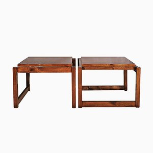 Vintage Cubist Coffee Tables, Set of 2