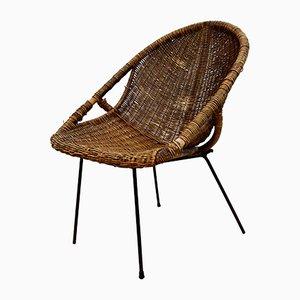 Vintage Italian Lounge Chair from Bonacina, 1960s