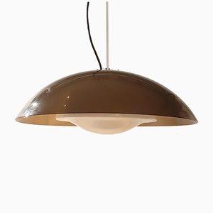 Lámpara colgante italiana de plexiglás de Guzzini, años 70