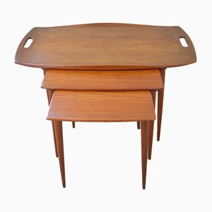 Nesting Tables by Jens Quistgaard for IHQ, 1950s