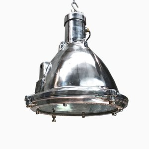 Industria Cast Aluminum & Glass Ceiling Lamp by Baliga for Baliga, 1998