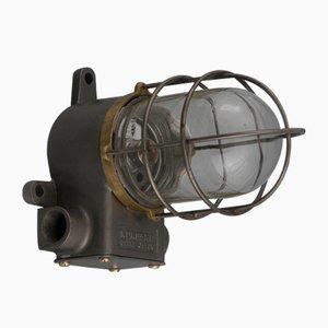 Schiffsflur-Deckenlampe von Osaka Tokushu, 1950er