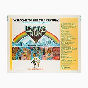 Logan's Run Movie Poster by Charles Moll, 1976