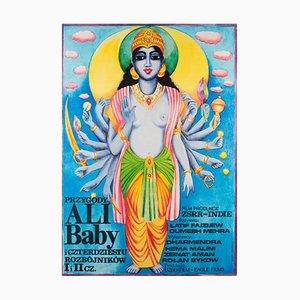Affiche de Film Ali Baba par Maria Ihnatowicz, Pologne, 1981