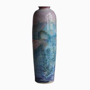 Große dänische Mid-Century Vase aus Steingut, 1970er