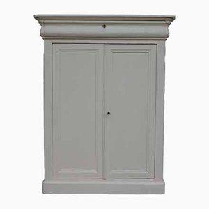 Vertiko White Cabinet, 1920s