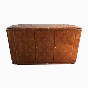 Vintage French Mahogany Veneer Cabinet
