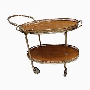 Mid-Century Italian Drinks Trolley, 1950s