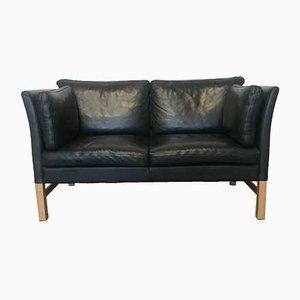 Dunkelgrünes 2-Sitzer Sofa von Skipper, 1970er