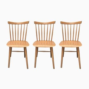 Mid-Century German Dining Chairs, Set of 3