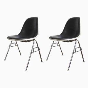 Mid-Century Beistellstühle von Charles & Ray Eames für Vitra, 2er Set