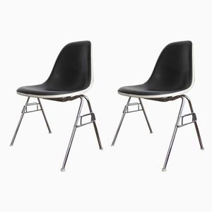 Mid-Century Side Chairs by Charles & Ray Eames for Vitra, Set of 2