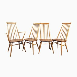 Goldsmith Dining Chair by Lucian Ercolani for Ercol, 1960s, Set of 4