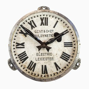 Iron Factory Clock from Gents of Leicester, 1930s
