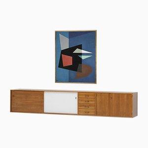 Schwebendes Sideboard von Jos de Mey für Van den Berghe Pauvers, 1960er