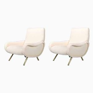 Lady Lounge Chairs by Marco Zanuso for Arflex, 1951, Set of 2