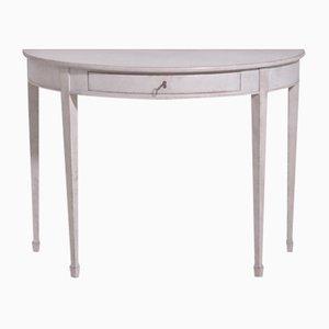 Table Console Ancienne Demi-Lune