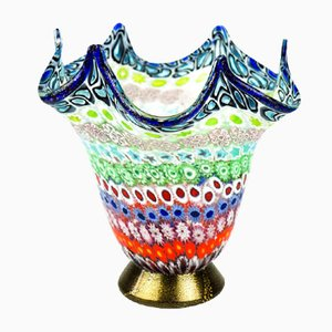 Murrina Millefiori Glasvase von Imperio Rossi für Made Murano Glas, 2019