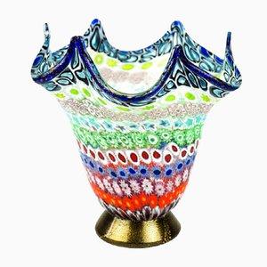 Vaso in vetro Murrina Millefiori di Imperio Rossi per Made Murano Glass, 2019