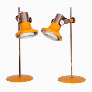 Tischlampen von Pavel Grus für Kamenický Šenov, 1960er, 2er Set