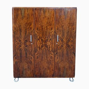 Bauhaus Walnut Wardrobe from Hynek Gottwald, 1930s