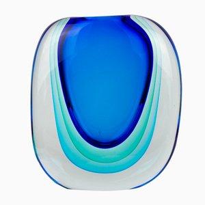 Jarrón Technics de vidrio y latón de Michele Onesto para Made Murano Glass, 2019