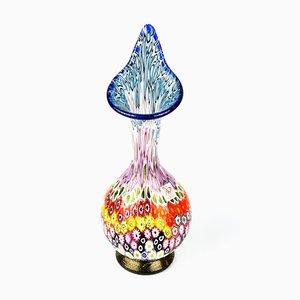 Vase Murrina Millefiori en Verre par Imperio Rossi pour Made Murano Glass, 2019