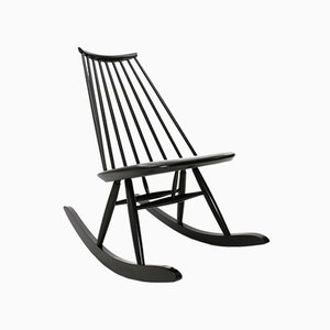Mid-Century Mademoiselle Rocking Chair by Ilmari Tapiovaara for Artek, 1950s