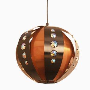 Lampada di Werner Schou per Coronell Elektro, Danimarca, anni '60