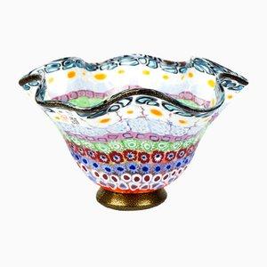 Bol Millefiori en Verre Murrina par Imperio Rossi pour Made Murano Glass, 2019