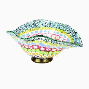 Murrina Millefiori Glass Bowl by Imperio Rossi for Made Murano Glass, 2019
