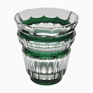 Vase en Cristal de Val Saint Lambert, années 50