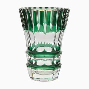 Crystal Vase from Val Saint Lambert, 1950s