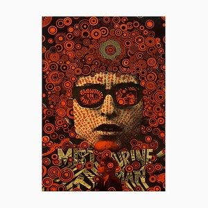 Bob Dylan Mister Tambourine Man Poster by Martin Sharp, 1967