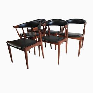Chaises de Salle à Manger par Johannes Andersen pour Andersen Møbelfabrik, 1963, Set de 6