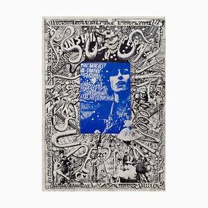 Donovan Sunshine Superman Poster by Martin Sharp, 1968